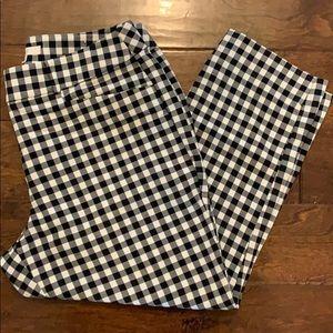 Loft checkered pants